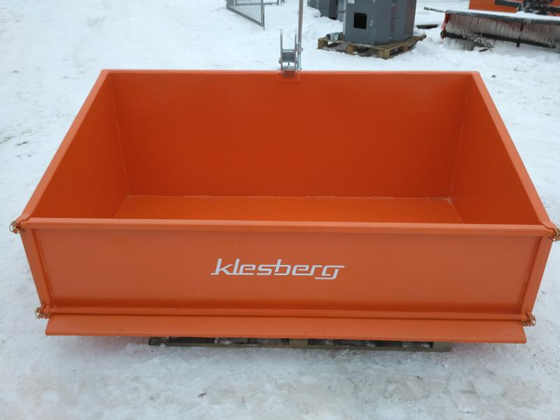 KLESBERG Heckcontainer Laster Kippmulde 2000mm