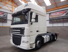 Daf XF105 460 SUPERSPACE EURO 5, 6 X 2 TRACTOR UNIT - 2013 - EY13 VAM