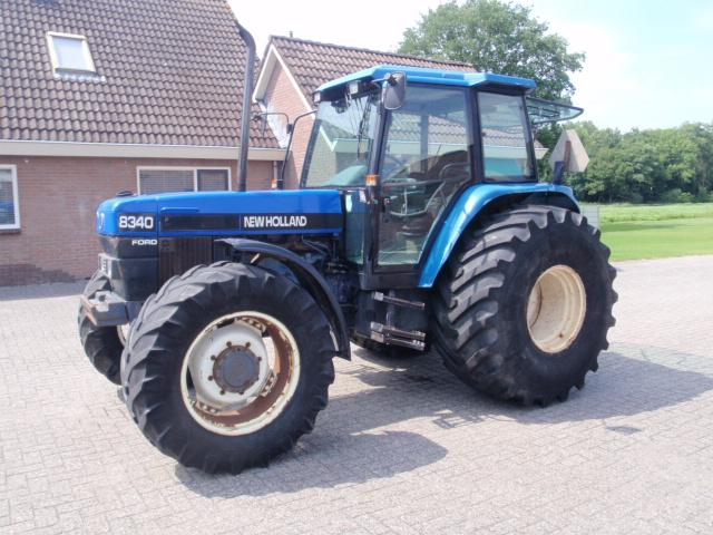 New Holland 8340 SLE 6 cil.turbo dsl.