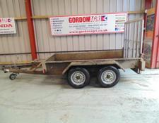 Indespension Twin Axle Mini Digger / Plant trailer