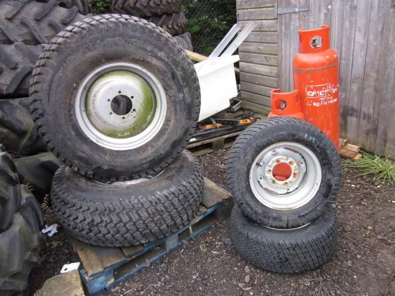 Grass Wheel and Tyre Set