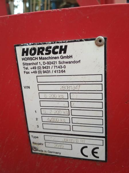 Horsch Joker 8RT