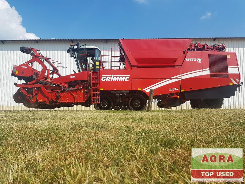 Grimme Grimme Tectron 415 RS roller separators and MULTISEP
