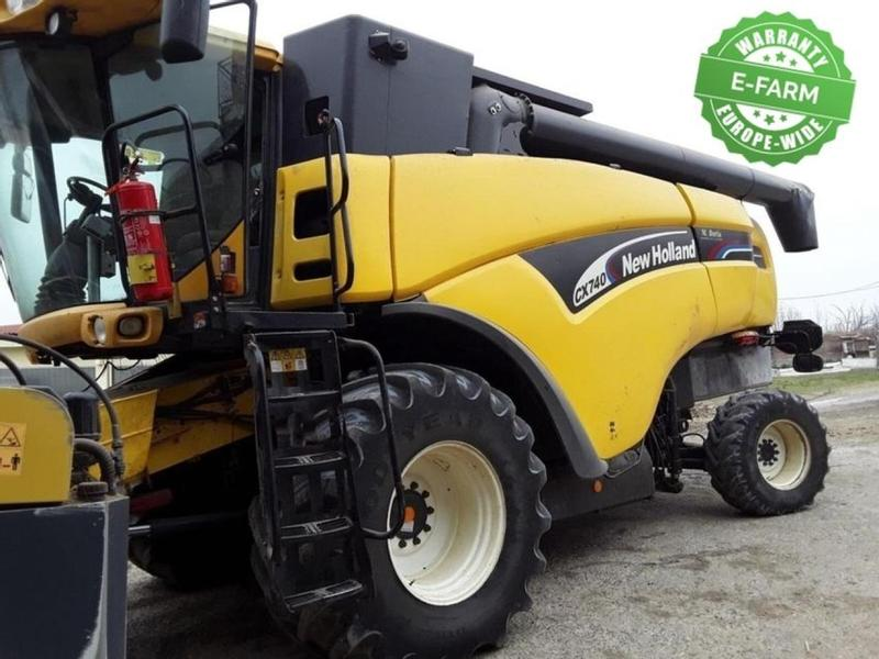 New Holland CX740SL