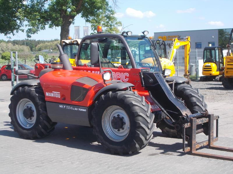 Manitou MLT 634 LSU TURBO