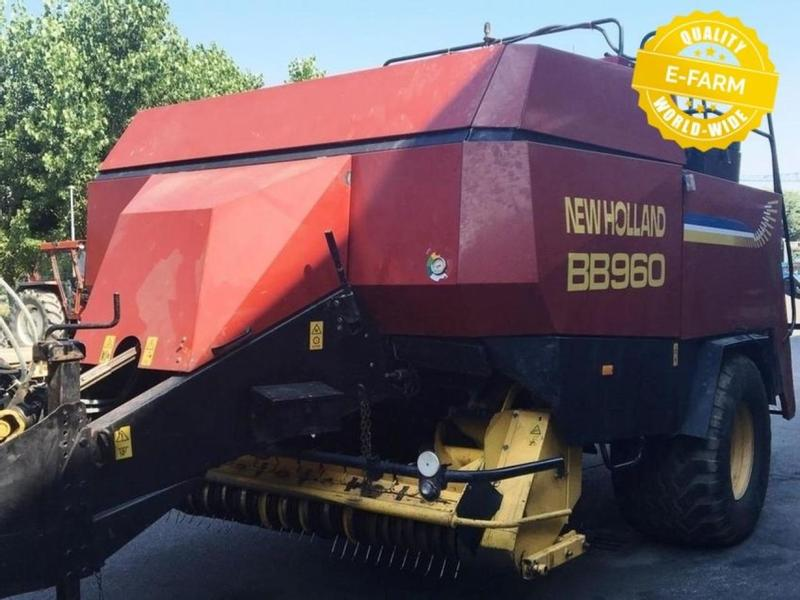 New Holland BIG BALER 960s