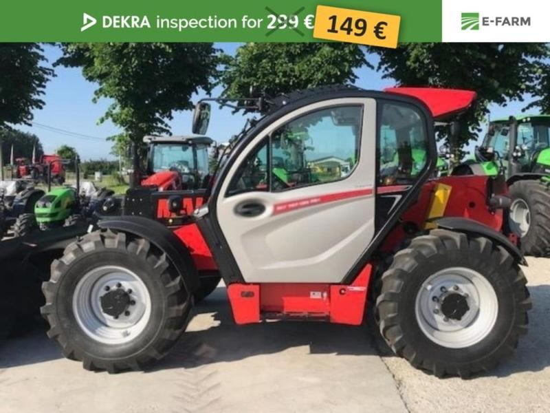 Manitou MLT 737 -130 PS + new AG