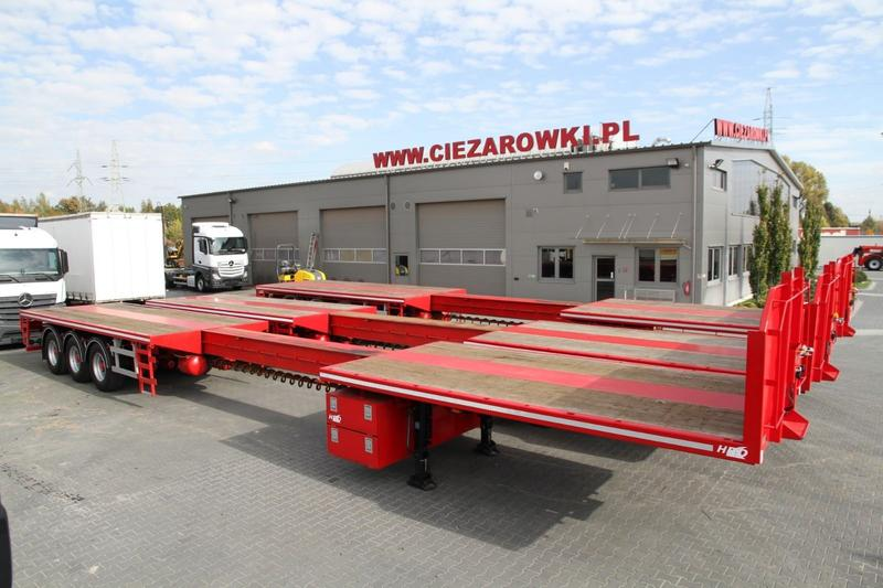 HRD 3 AXLE EXTENDABLE LOW LOADER 10 UNITS AVAILABLE!