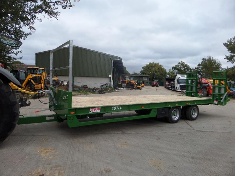 JPM 27FT COMMERCIAL AXLE LOW LOADER TRAILER