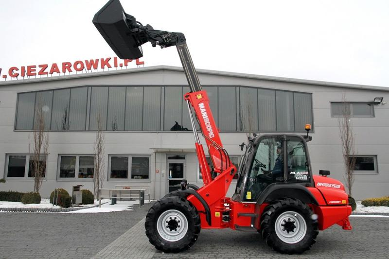 Manitou ARTICULATED TELESCOPIC LOADER MLA628T 120 LSU
