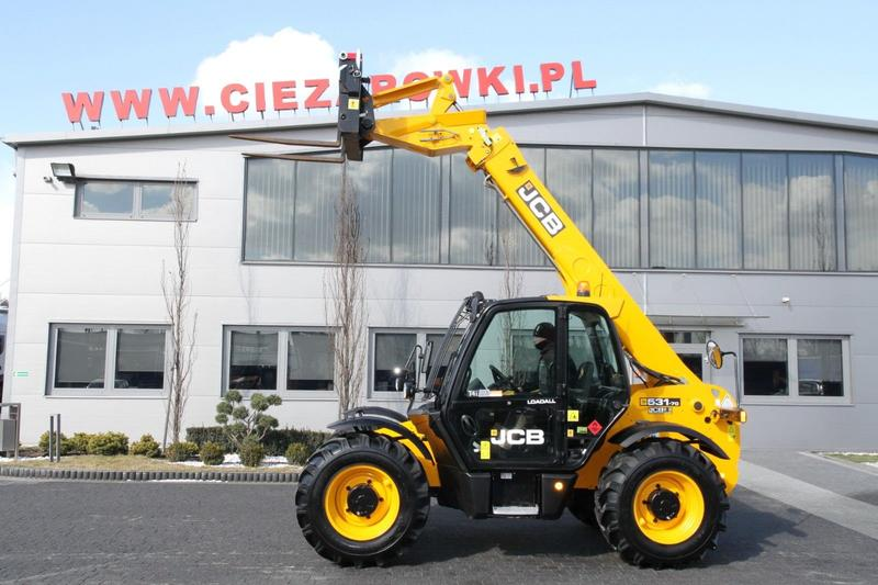 JCB TELESCOPIC LOADER 531-70 7 M 4x4x4