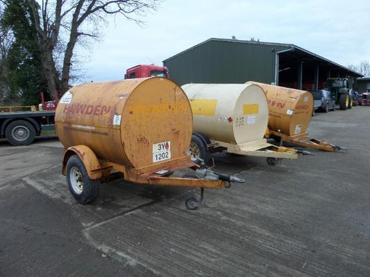 ADR  2250 LITRE BUNDED FUEL BOWSER