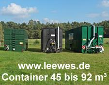 LEEWES Güllecontainer 45 - 92 m³
