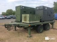 Libby AN/MJQ-1612 Trailer Mounted Power Plant