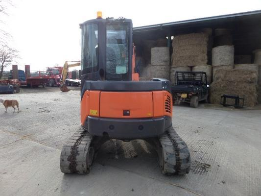 Hitachi  ZX48U-3 CLR MINI DIGGER