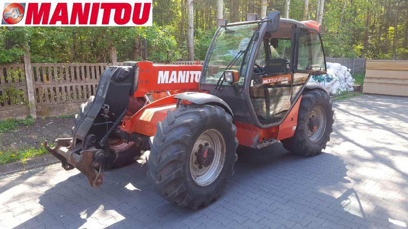 Manitou 741-120  LSU Turbo